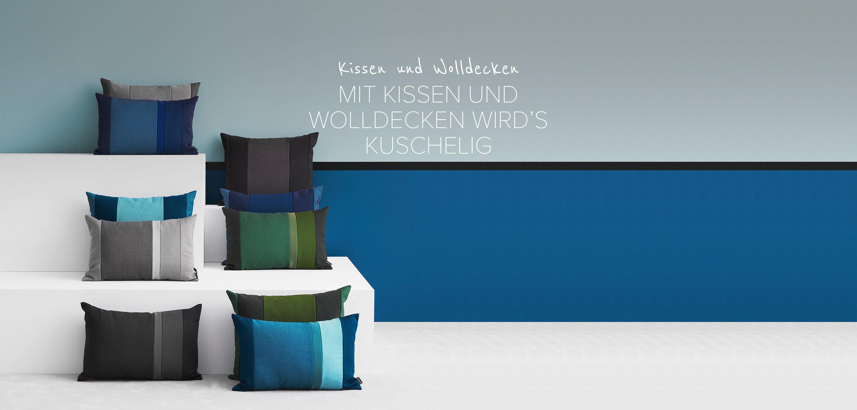 Kissen & Wolldecken