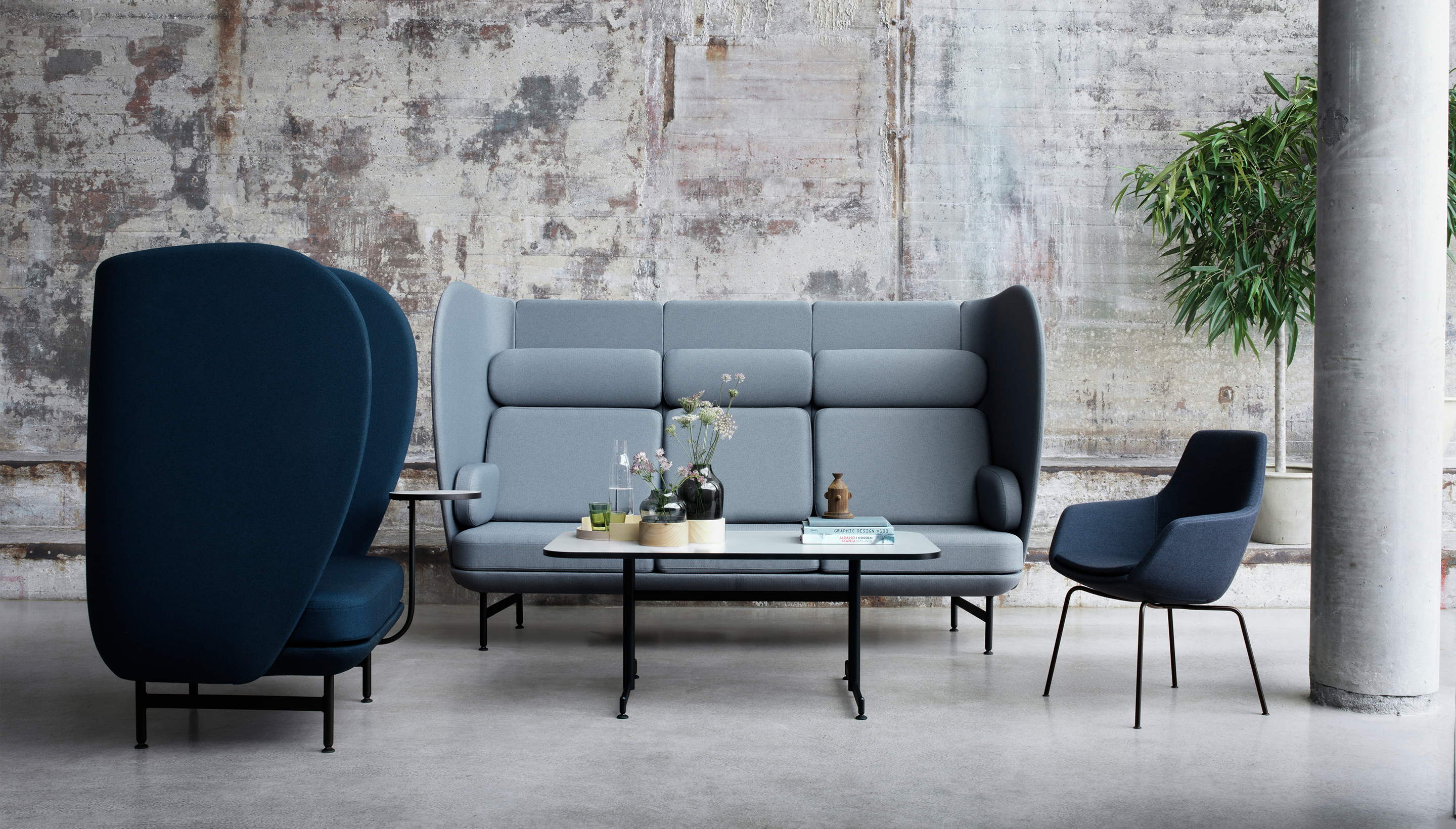 Fritz Hansen Plenum | JH1001 | One seater sofa