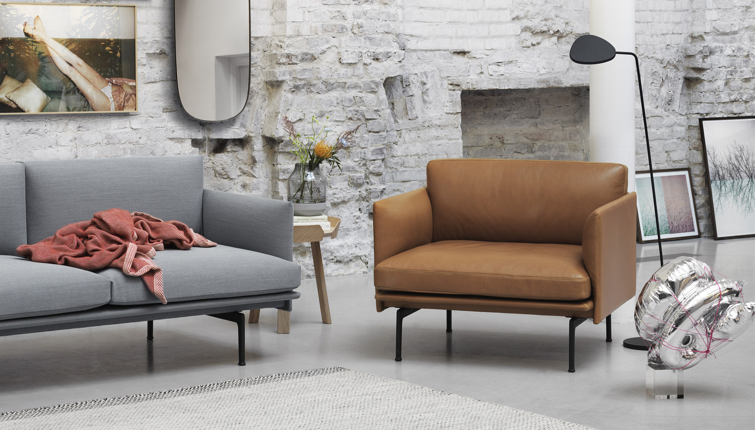 Muuto Muuto Outline 3 Seater Workbrands