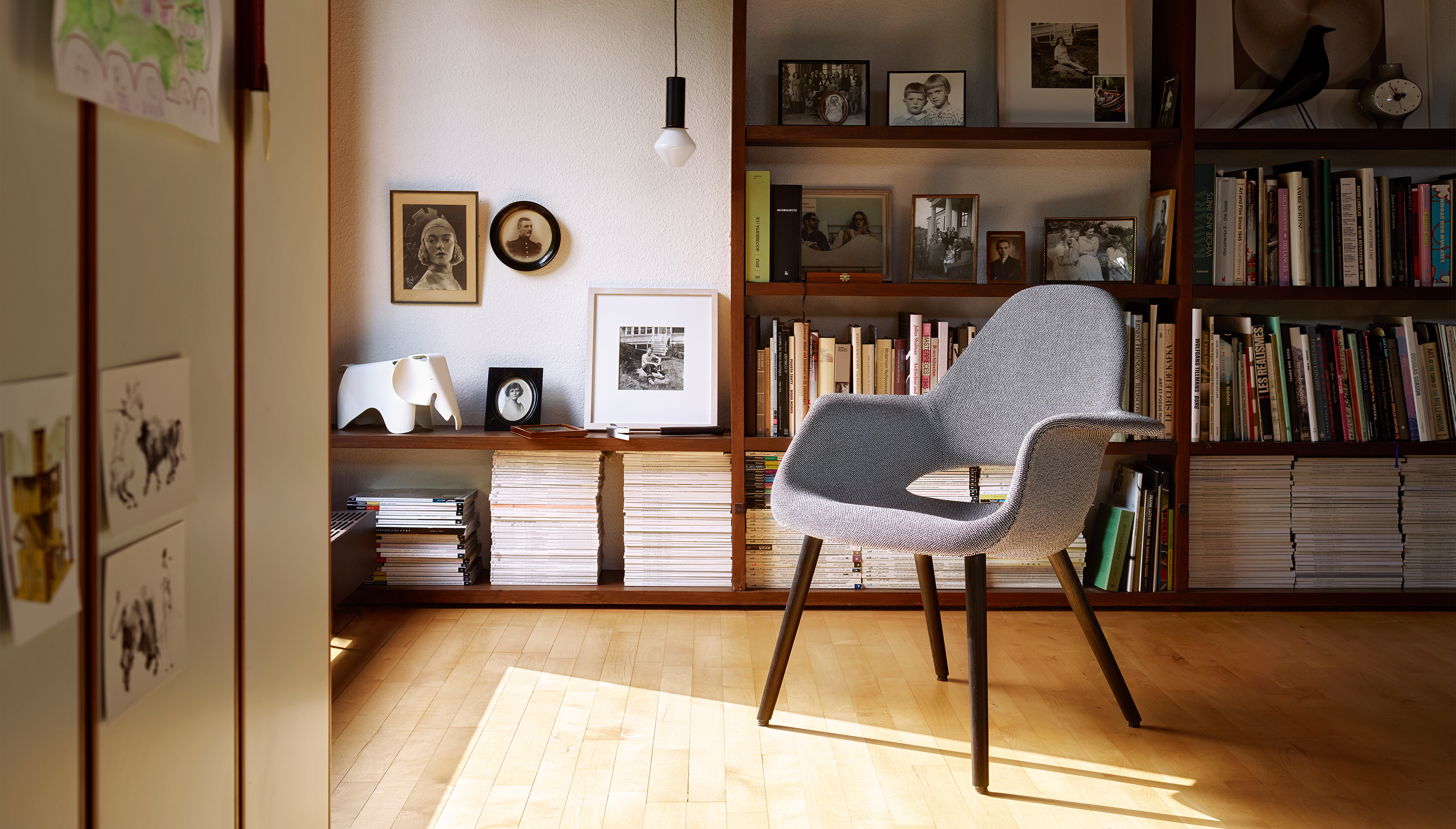 Vitra Organic Chair Sheepskin