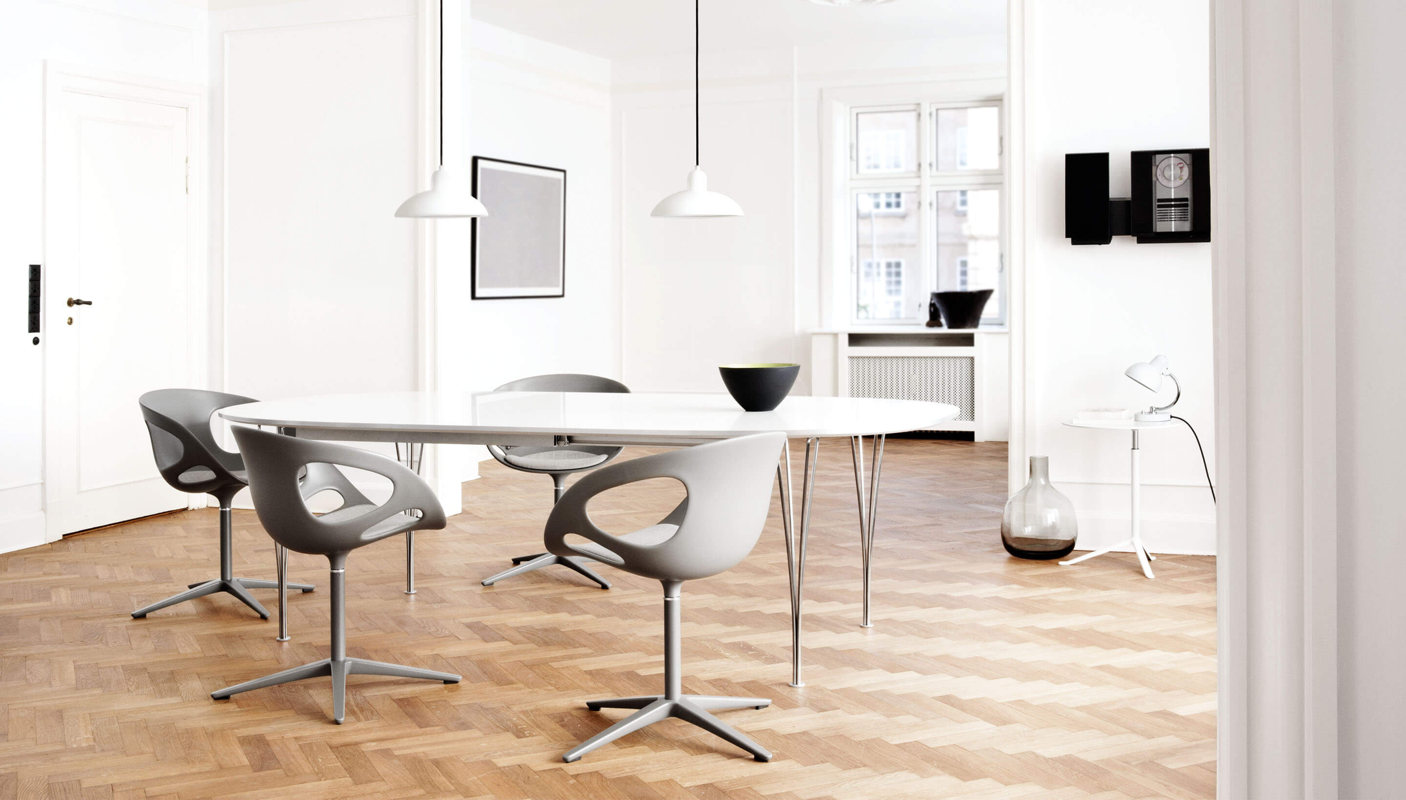 Fritz Hansen Table Series Super Elliptical Tafel Workbrands