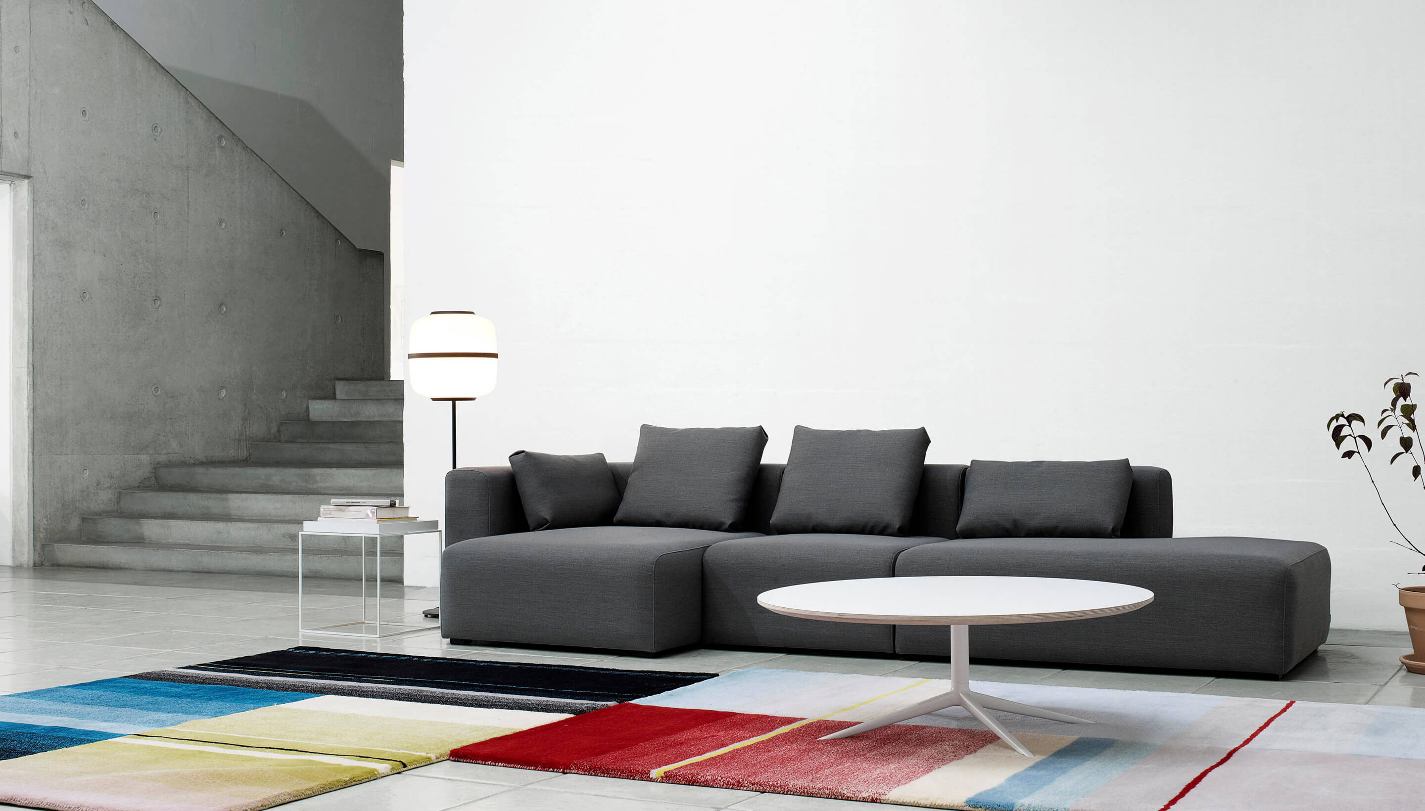 HAY HAY Mags Soft Sofa | 3-Seater | Combination 3 - Workbrands