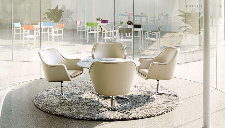 Herman miller bumper lounge stoel workbrands for Herman miller stoel