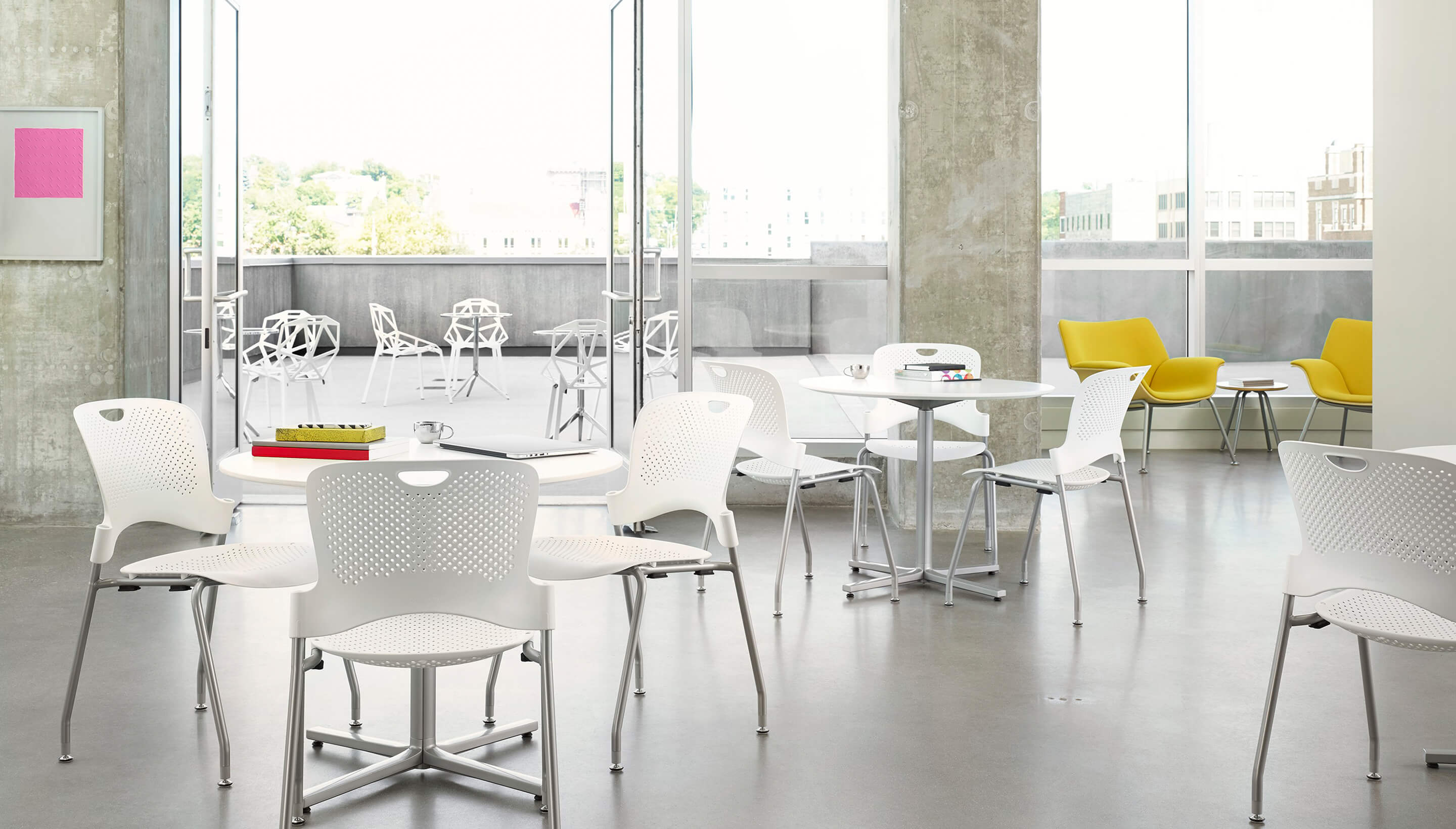 Herman Miller Caper | Stacking Chair