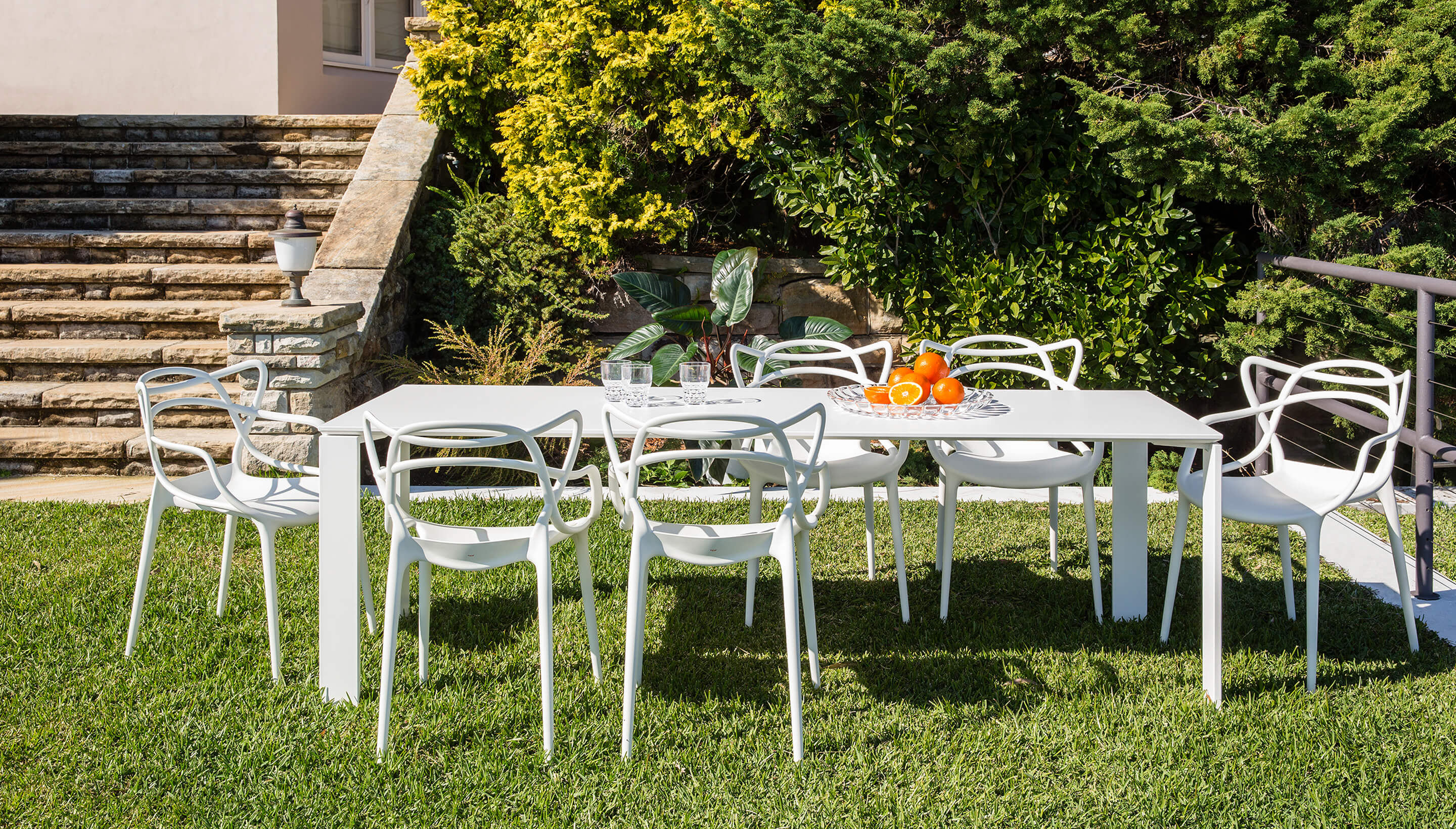 Pleasing Kartell Kartell Four Outdoor Inzonedesignstudio Interior Chair Design Inzonedesignstudiocom