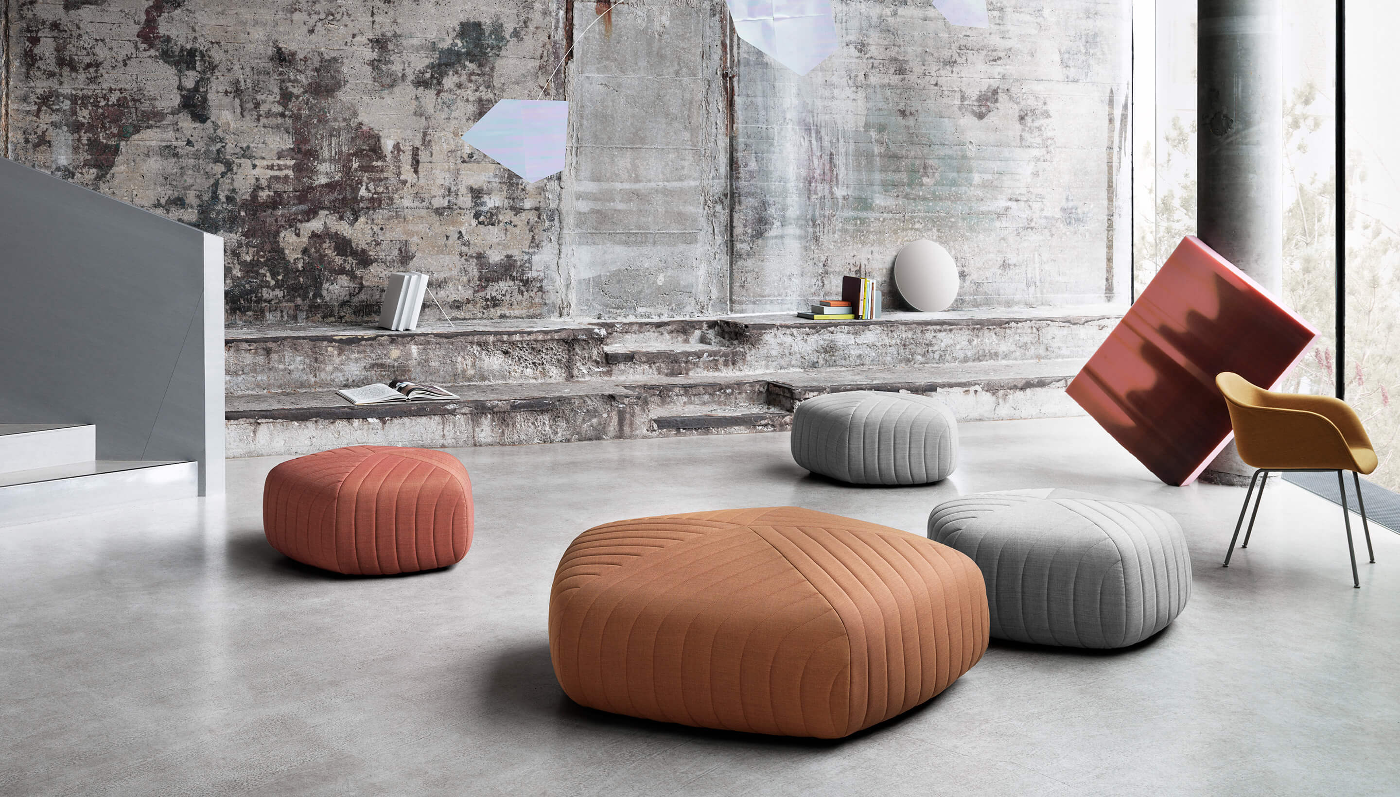 Muuto Muuto Five Pouf Workbrands
