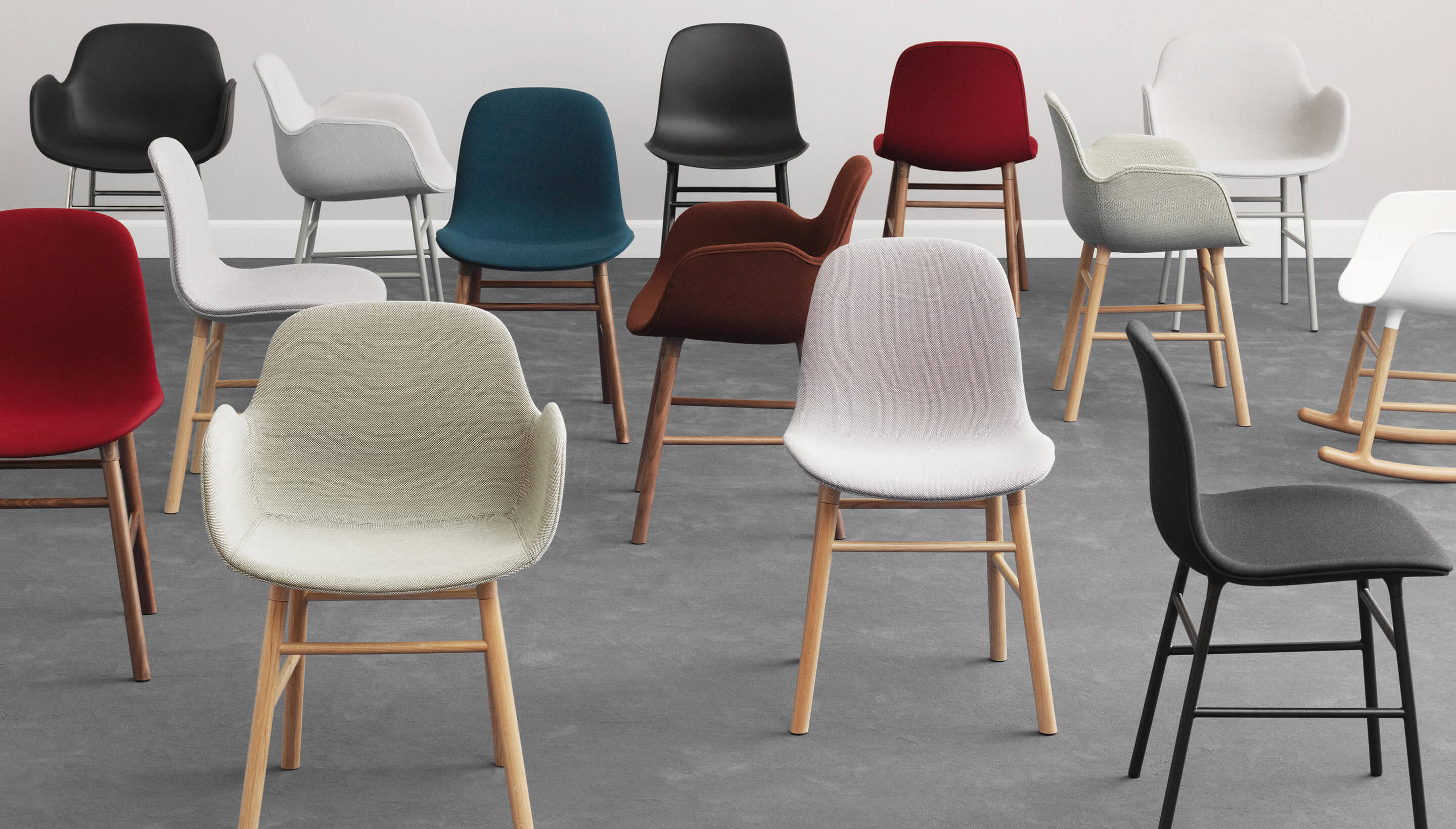 Normann Copenhagen Form Chair | Full Upholstery