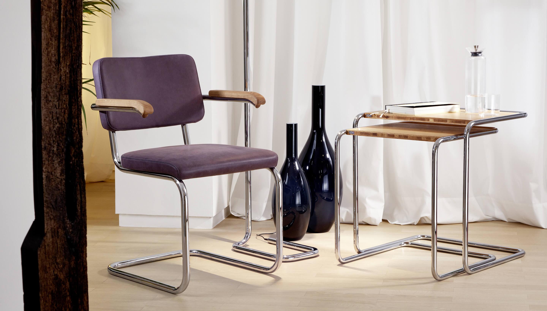 thonet s 64 pv volledig bekleed workbrands. Black Bedroom Furniture Sets. Home Design Ideas