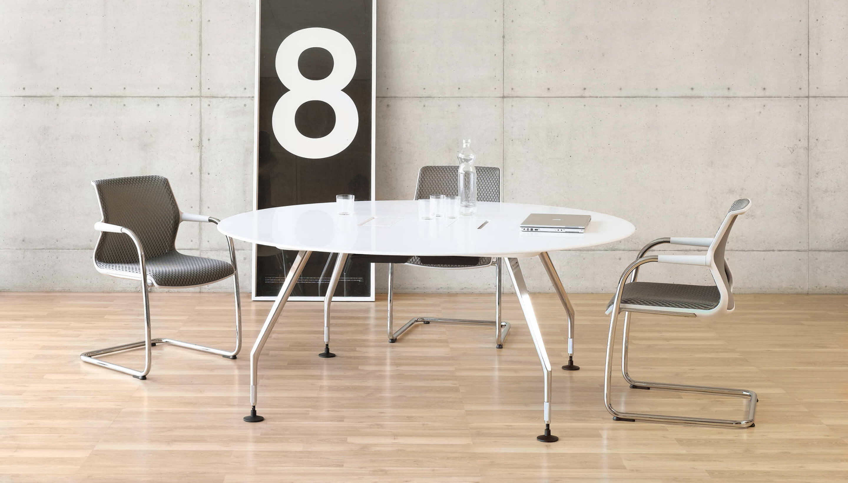 vitra vitra ad hoc solitaires meeting table own table. Black Bedroom Furniture Sets. Home Design Ideas