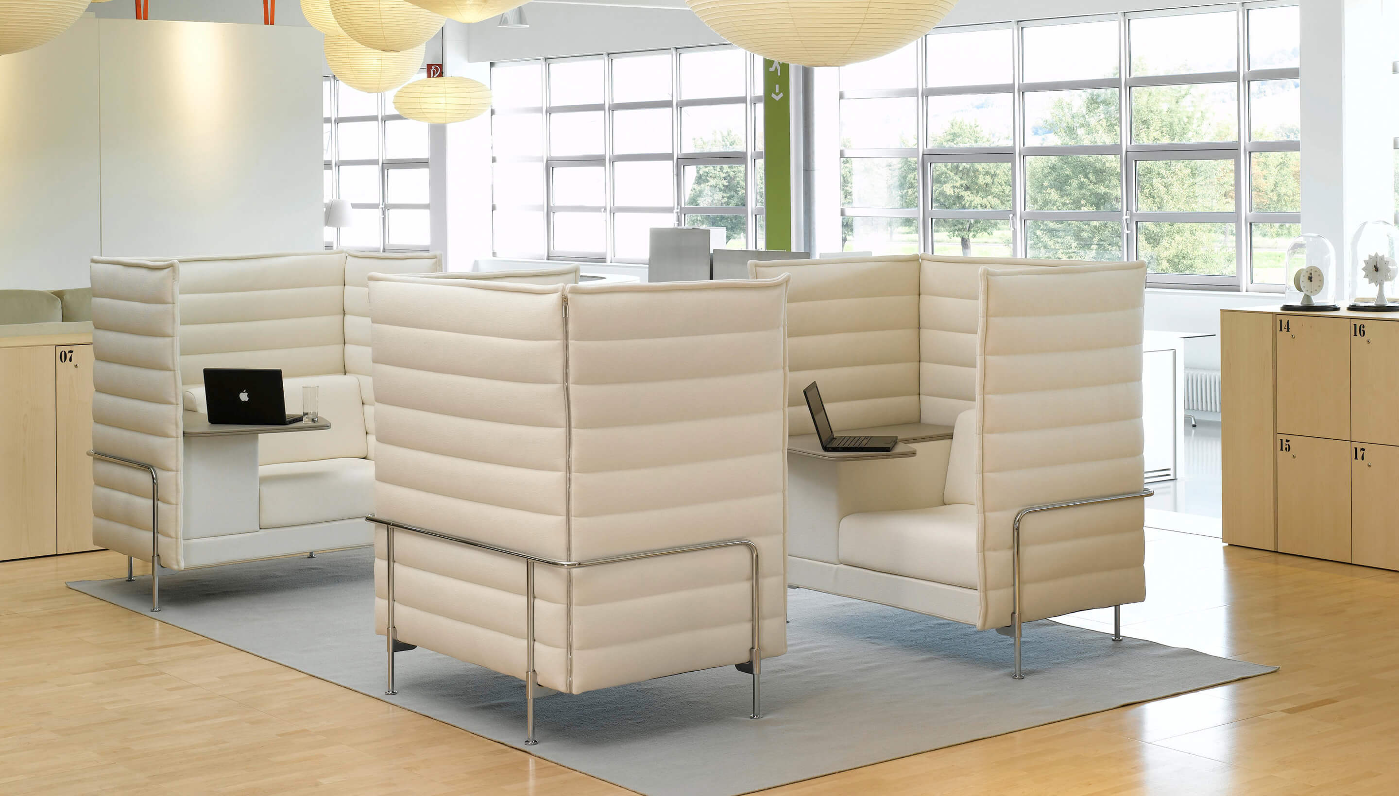 Vitra Vitra Alcove Xtra Highback Sofa Workbrands