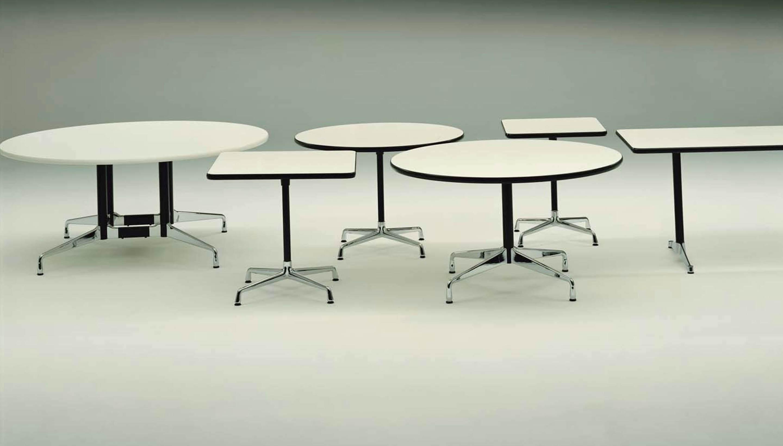 vitra vitra eames segmented tables round workbrands