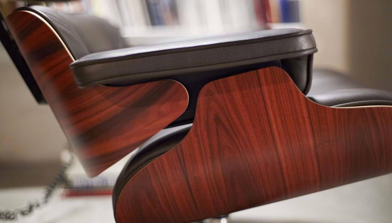 palisander Vitra Vitra Lounge Chair | Santos Palisander   Workbrands palisander