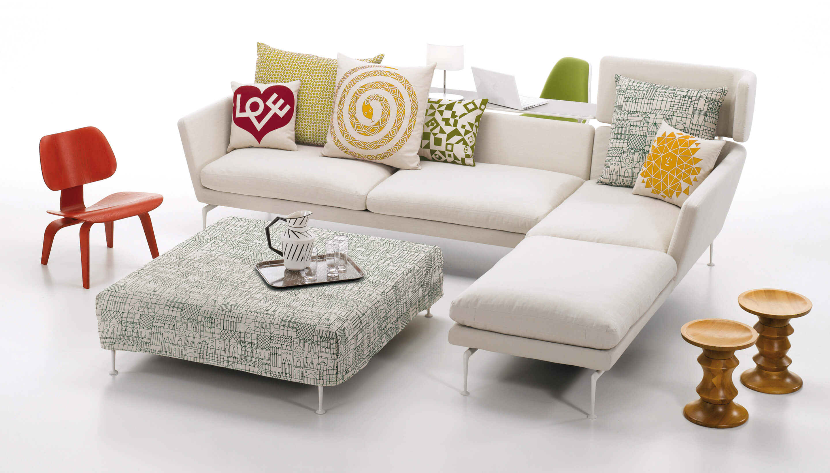 Vitra suita sofa sofa menzilperde net for Chaise longue canada