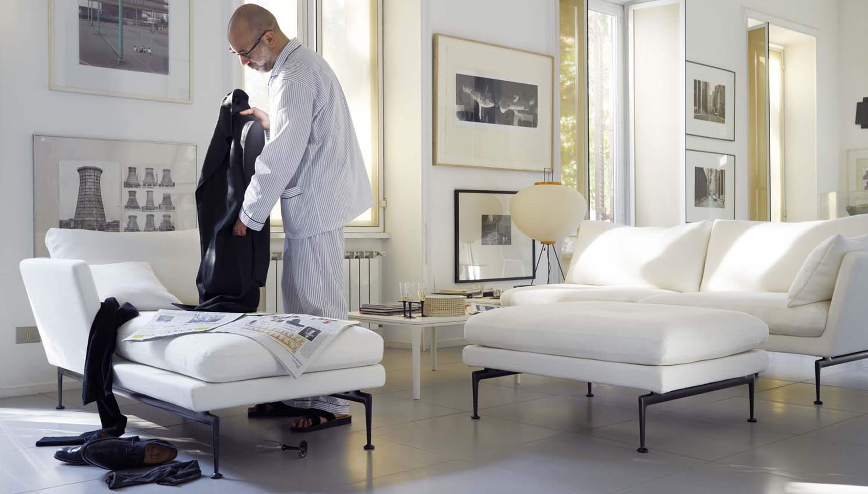 vitra vitra suita sofa ottoman workbrands. Black Bedroom Furniture Sets. Home Design Ideas