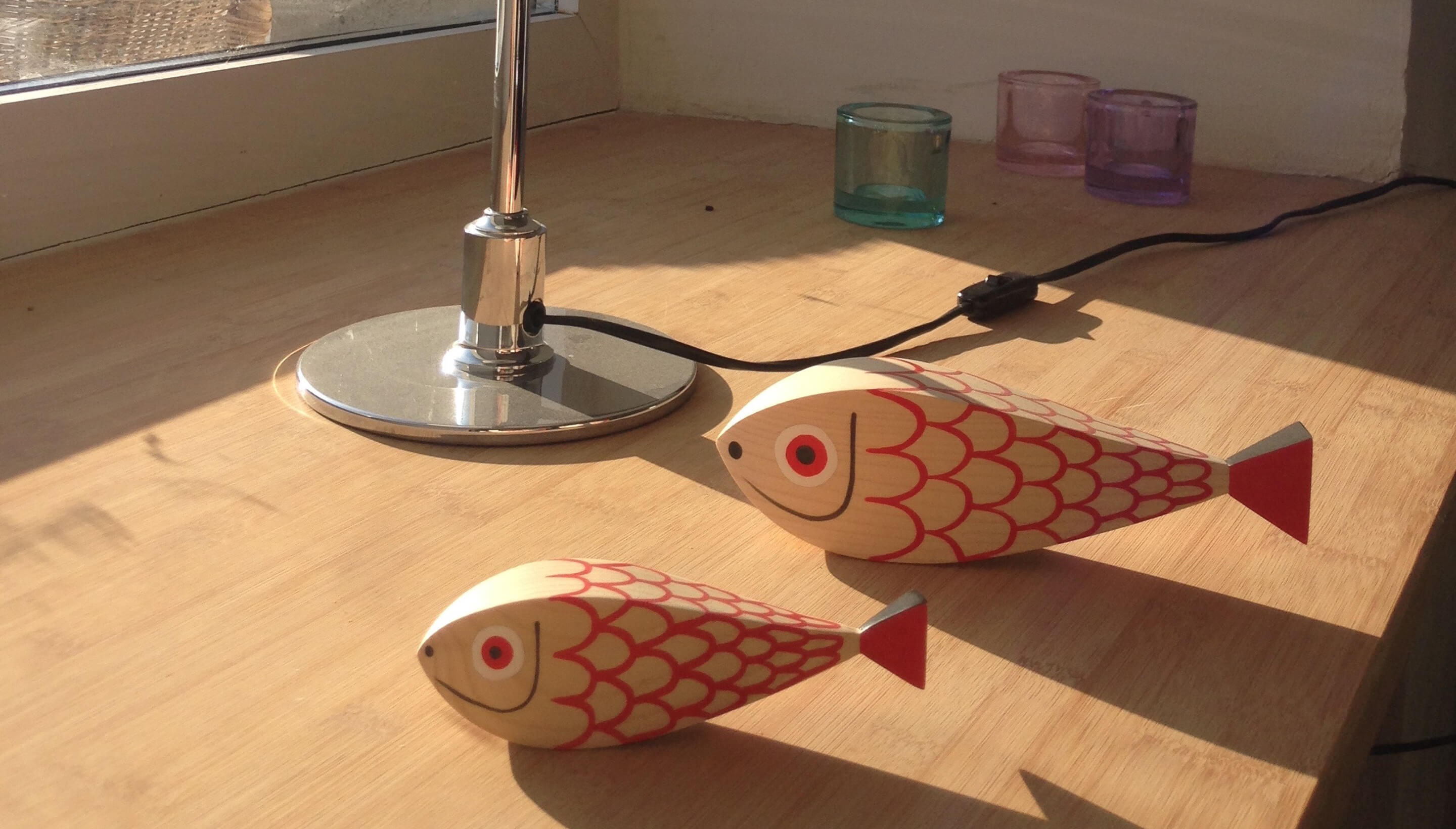 Vitra Wooden Dolls Mother Fish & Child