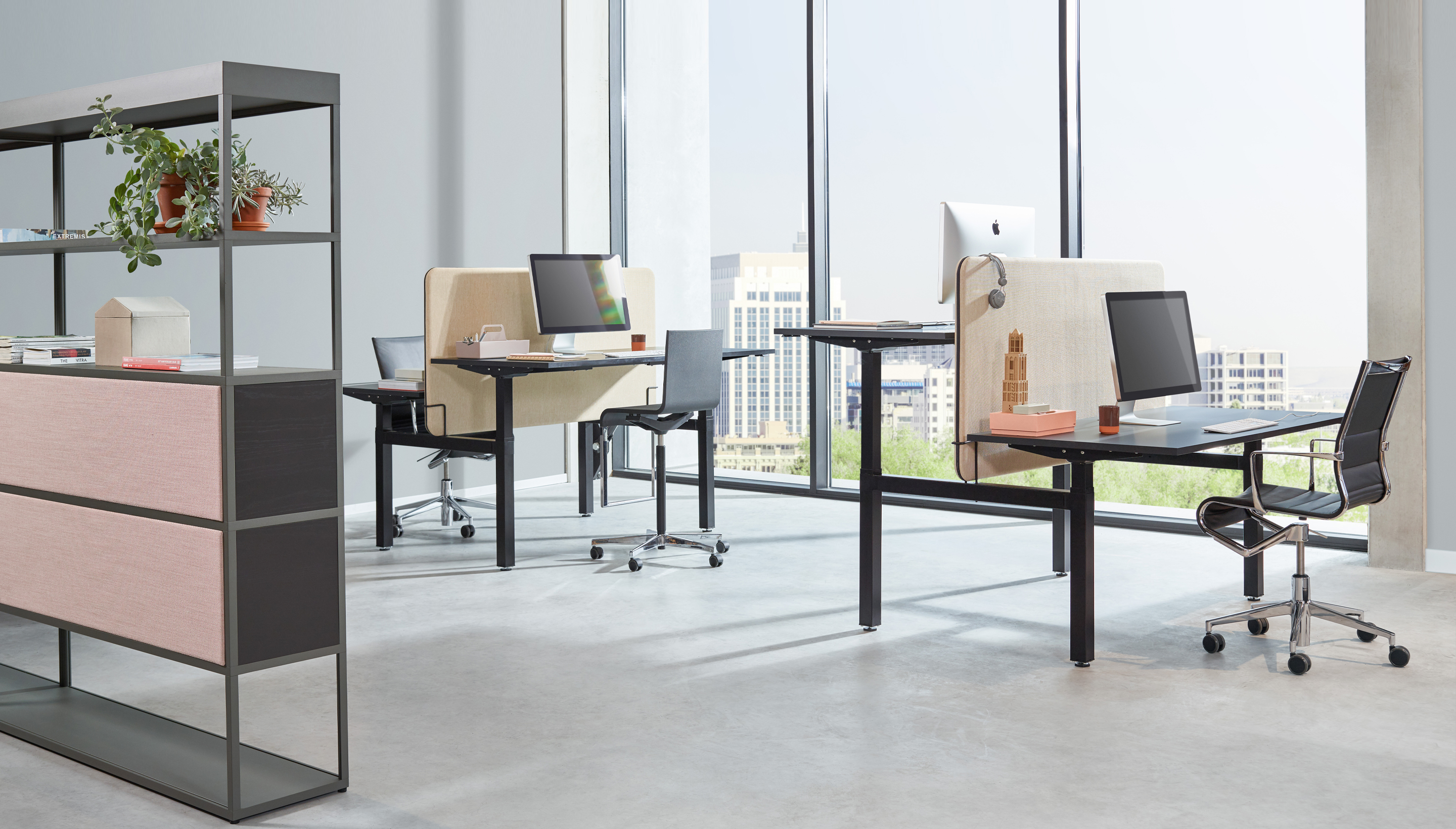 OUTLET | Workbrands Smart | Individual workstation | Crank adjustment | 160 x 80 cm